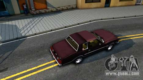 Chevrolet Monte Carlo 1976 for GTA San Andreas back view