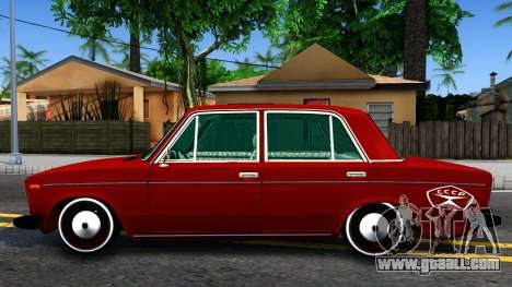 VAZ 2106 Resto for GTA San Andreas left view