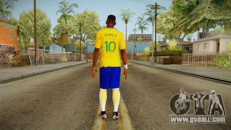 PES2016 - Neymar for GTA San Andreas third screenshot