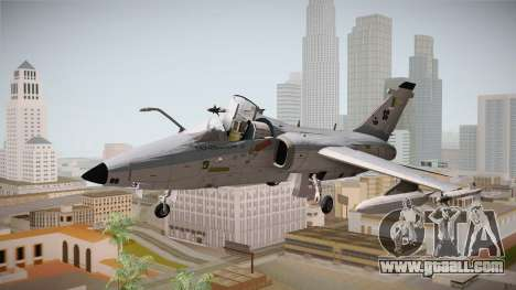 EMB Embraer A-1 AMX FAB for GTA San Andreas back left view
