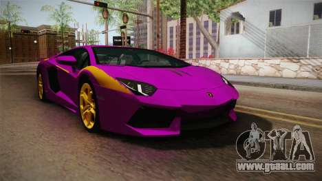 Lamborghini Aventador The Joker for GTA San Andreas
