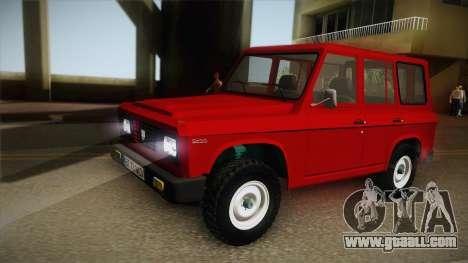 Aro 244 1982 for GTA San Andreas