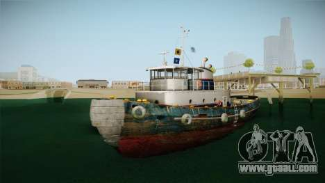 GTA 5 Buckingham Tug Boat for GTA San Andreas