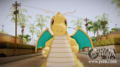 Pokémon XY - Dragonite for GTA San Andreas