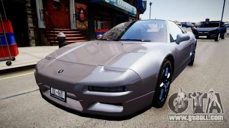 Acura NSX 1997 Retexture for GTA 4