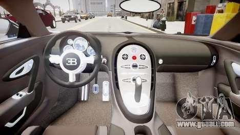 Bugatti Veyron 16.4 v1.7 for GTA 4