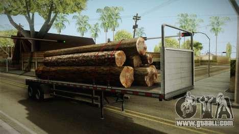GTA 5 Log Trailer v3 for GTA San Andreas right view