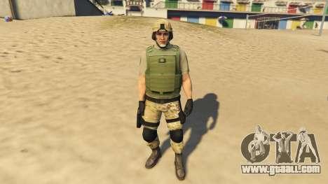 GTA 5 SAHP SWAT Ped Model 2.0.0