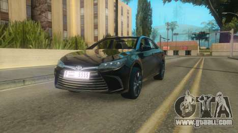 Toyota Camry 2017 for GTA San Andreas