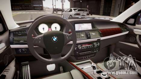 BMW X5 V1.0 for GTA 4 inner view