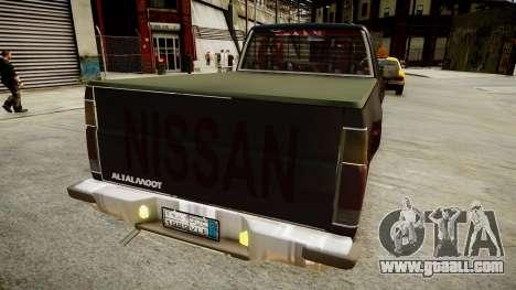 Nissan Pickup 1994 2Doors for GTA 4