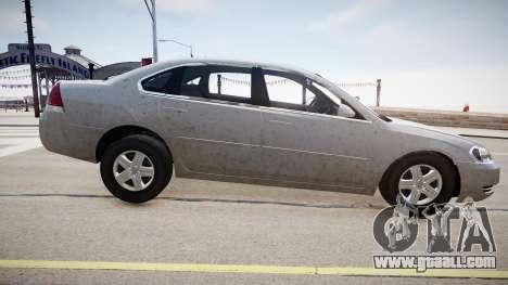 Chevrolet Impala LS for GTA 4 back left view