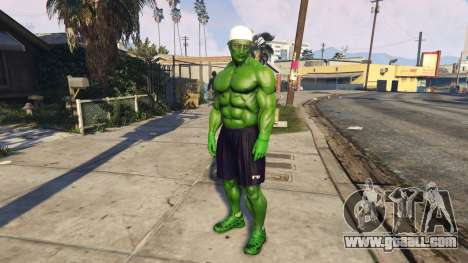 GTA 5 The Hulk human eyes