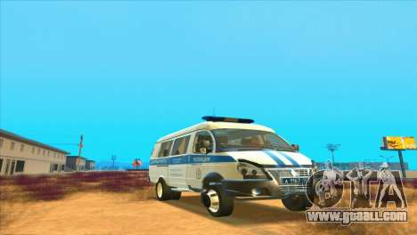 Gazelle PPSP for GTA San Andreas