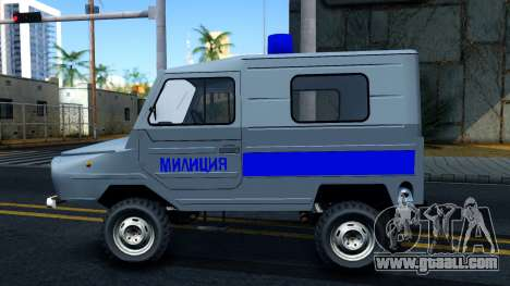 LuAZ 969М Police for GTA San Andreas left view