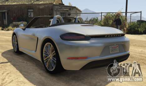GTA 5 Porsche 718 Boxster S left side view