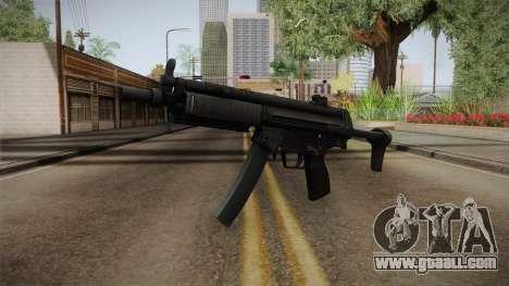 Hidden MP5 for GTA San Andreas