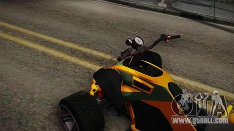 GTA 5 Nagasaki Blazer for GTA San Andreas