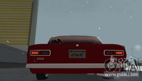 VAZ 2101 BPAN snow version for GTA San Andreas back view