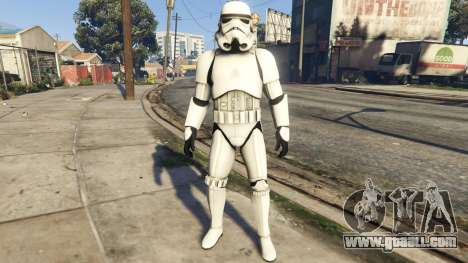 GTA 5 Stormtrooper 0.1