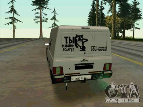 IZH-21175 for GTA San Andreas left view