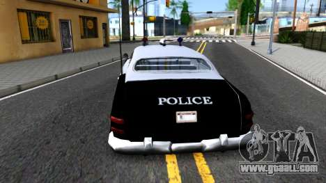 Hermes Classic Police Los-Santos for GTA San Andreas back left view