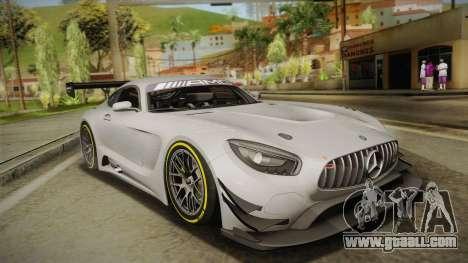 Mercedes-Benz AMG GT3 2016 for GTA San Andreas