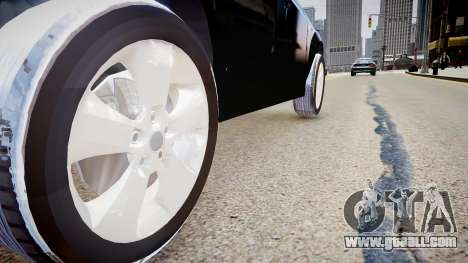 BMW X3 2.5Ti 2009 for GTA 4 back view