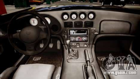 Dodge Viper RT/10 1992 for GTA 4