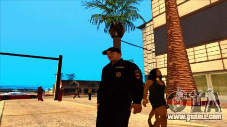 Member of the PPP in the summer uniform of the n for GTA San Andreas