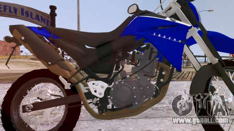 Yamaha XT 660R for GTA 4 inner view