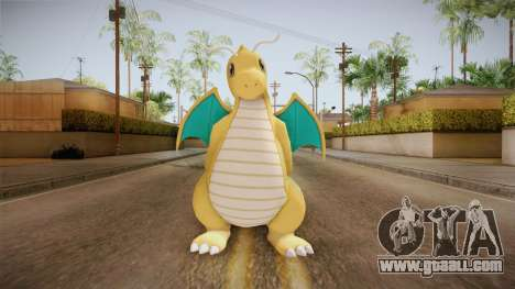 Pokémon XY - Dragonite for GTA San Andreas second screenshot