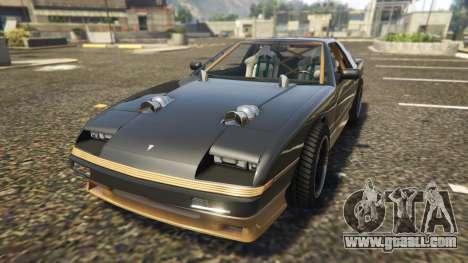 GTA 5 Ruiner FD Spec back view