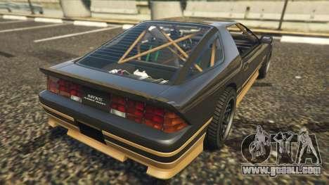 GTA 5 Ruiner FD Spec rear left side view