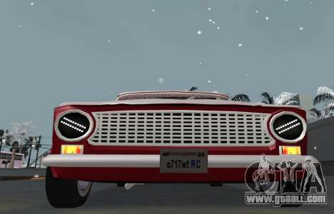 VAZ 2101 BPAN snow version for GTA San Andreas right view