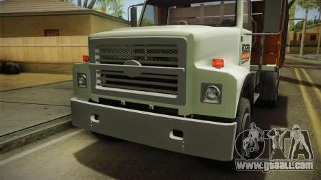 GTA 5 Vapid Scrap Truck Cleaner v2 IVF for GTA San Andreas