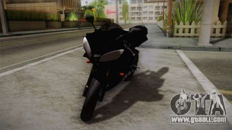 Yamaha YZF-R6 2008 for GTA San Andreas back left view