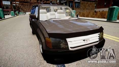 Toyota Land Cruiser VXR 1999 for GTA 4