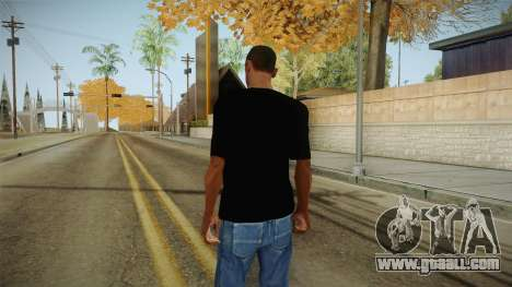 Skull t-shirt for GTA San Andreas second screenshot