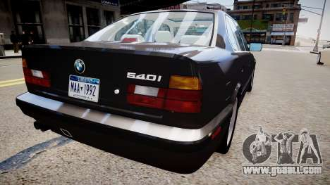 BMW 540i E34 for GTA 4