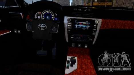 Toyota Camry V50 Stock for GTA 4