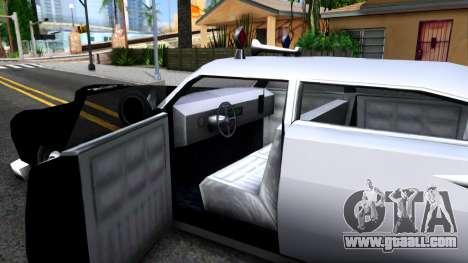 Hermes Classic Police Los-Santos for GTA San Andreas inner view