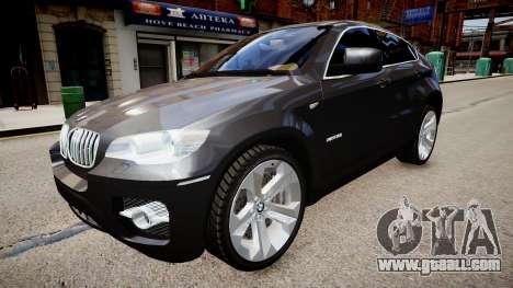 BMW X6 for GTA 4