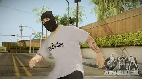 The masked bandit for GTA San Andreas