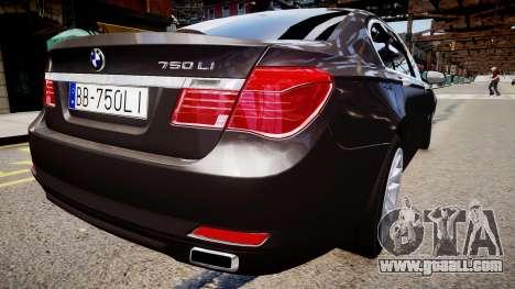 BMW 750 LI v.1.2 for GTA 4