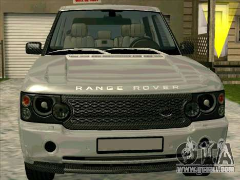 Range Rover Sport 2008 for GTA San Andreas left view