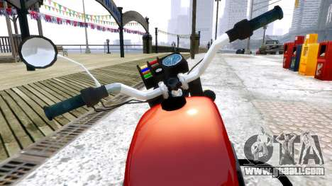 IZH Planeta 4 for GTA 4 back view