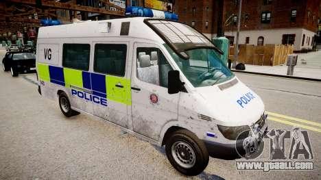 Mercedes-Benz Sprinter Police for GTA 4