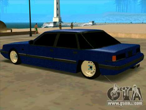 Intruder CARBON for GTA San Andreas left view