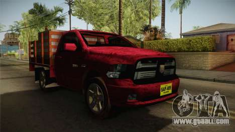 Dodge Ram 1500 for GTA San Andreas right view
